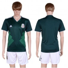 2017-2018 National Men Mexico Home Suits Soccer Jersey