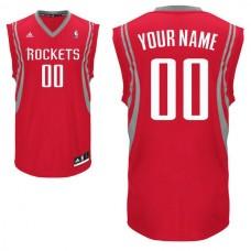 Adidas Houston Rockets Youth Custom Replica Road Red NBA Jersey