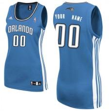 Adidas Orlando Magic Women Custom Replica Road Royal NBA Jersey