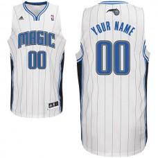 Men Adidas Orlando Magic Custom Swingman Home White NBA Jersey