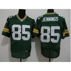 2017 NFL Green Bay Packers 85 Jennings Green Nike elite Jersey