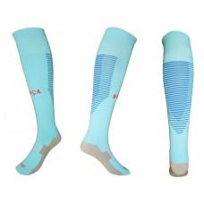 2017-2018 Barcelona away youth Thai version of the socks