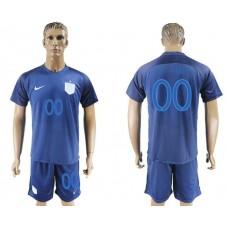 Men 2017-2018 National England away customized soccer jersey