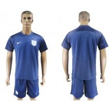 Men 2017-2018 National England away soccer jersey