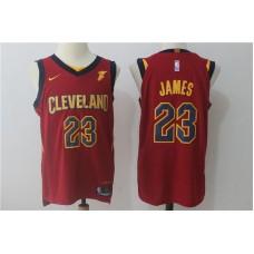2017 Men Cleveland Cavaliers 23 Lebron James red Nike NBA Jerseys
