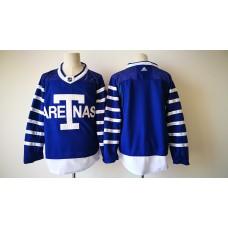 2017 Men NHL Toronto Maple Leafs Blank Adidas blue jersey