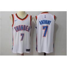 Men Oklahoma City Thunder 7 Anthony White New Nike Season NBA Jerseys