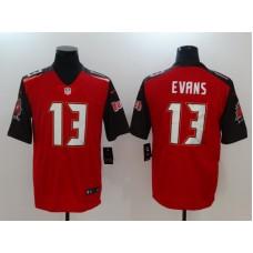 Men Tampa Bay Buccaneers 13 Evans Red Nike Vapor Untouchable Limited NFL Jerseys