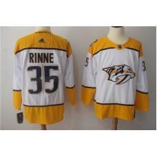 Men Nashville Predators 35 Rinne white Hockey Stitched Adidas NHL Jerseys