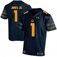 Men California Golden Bears 1 Marvin Jones Jr. Dark blue Customized NCAA Jerseys1