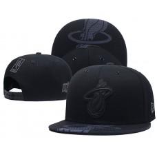 2018 NBA Miami Heat Snapback hat 0506