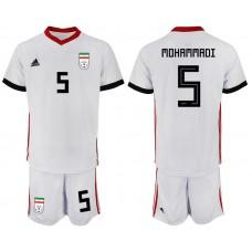2018 World Cup Men Iran home 5 soccer jersey