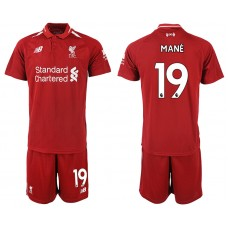 2018-2019 Men club Liverpool home 19 soccer jersey