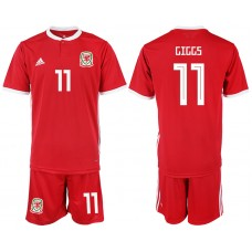 2018-2019 Men nationa Welsh home 11 soccer jersey