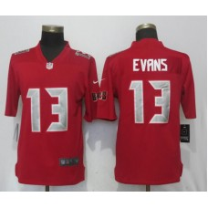 Men Tampa Bay Buccaneers 13 Evans Navy Red Nike Color Rush Limited NFL Jerseys
