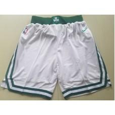 2018 Men NBA Nike Boston Celtics white shorts