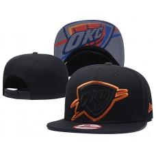 2018 NBA Oklahoma City Thunder Snapback hat GSMY8181