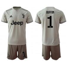Men 2018-2019 club Juventus away 1 grey Soccer Jerseys