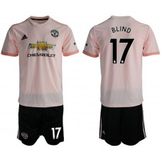 Men 2018-2019 club Manchester united away 17 pink soccer jersey