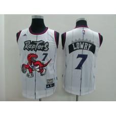 Youth Toronto Raptors 7 Lowry white Game Nike NBA Jerseys