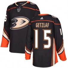 Adidas Anaheim Ducks 15 Ryan Getzlaf Black Home Authentic Youth Stitched NHL Jersey