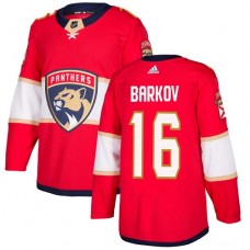 Adidas Florida Panthers 16 Aleksander Barkov Red Home Authentic Stitched Youth NHL Jersey