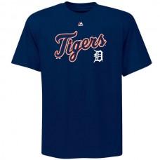 MLB Men Detroit Tigers Majestic Big  Tall Warning Track TShirt  Navy