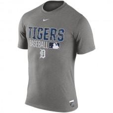MLB Men Detroit Tigers Nike 2016 AC Legend Team Issue 1.6 TShirt  Gray