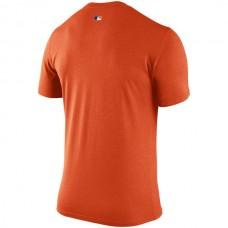 MLB Men Detroit Tigers Nike 2016 AC Legend Team Issue 1.6 TShirt  Orange