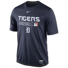 MLB Men Detroit Tigers Nike Legend Team Issue Performance TShirt  Navy