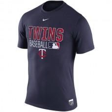 MLB Men Minnesota Twins Nike 2016 AC Legend Team Issue 1.6 TShirt  Navy
