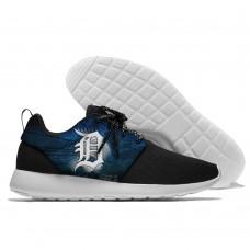 Men  Detroit Tigers Roshe style Lightweight Running shoes  2