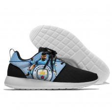 Men  Manchester City Roshe style Lightweight Running shoes  6