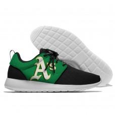 Men  Oakland Athletics Roshe style Lightweight Running shoes  2