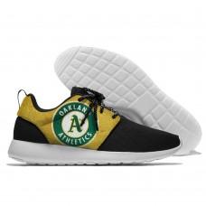 Men  Oakland Athletics Roshe style Lightweight Running shoes 3
