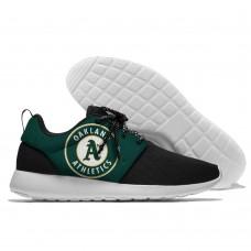 Men  Oakland Athletics Roshe style Lightweight Running shoes