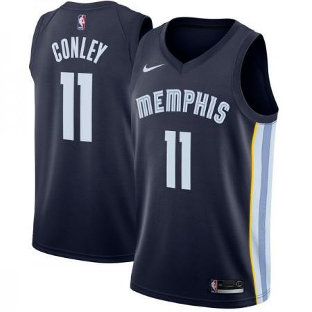 Men Memphis Grizzlies 11 Gonley Blue Nike Game NBA Jerseys