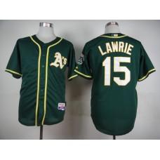 Men Oakland Athletics 15 Lawrie Green MLB Jerseys