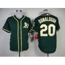 Men Oakland Athletics 20 Donaldson Green MLB Jerseys