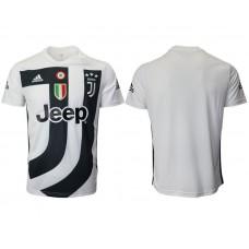 Men 2018-2019 club Juventus White training suit aaa version Soccer Jerseys