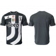 Men 2018-2019 club Juventus black training suit aaa version Soccer Jerseys