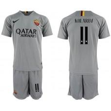 Men 2018-2019 club Rome away 11 grey Soccer Jerseys