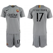 Men 2018-2019 club Rome away 17 grey Soccer Jerseys