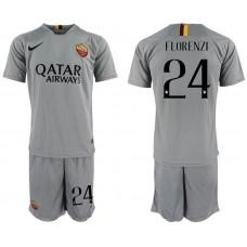 Men 2018-2019 club Rome away 24 grey Soccer Jerseys