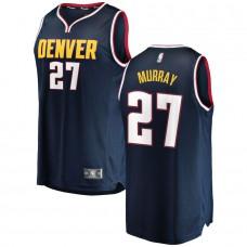Men Denver Nuggets 27 Murray Blue City Edition Game Nike NBA Jerseys