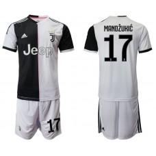 Men 2019-2020 club Juventus FC home 17 white Soccer Jerseys