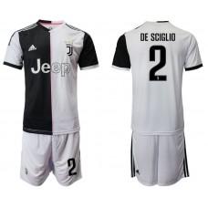 Men 2019-2020 club Juventus FC home 2 white Soccer Jerseys
