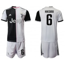 Men 2019-2020 club Juventus FC home 6 white Soccer Jerseys
