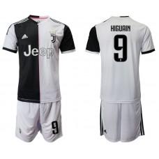 Men 2019-2020 club Juventus FC home 9 white Soccer Jerseys
