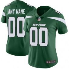 2019 NFL Customized New York Jets Home Jersey Women Green Vapor Untouchable jersey